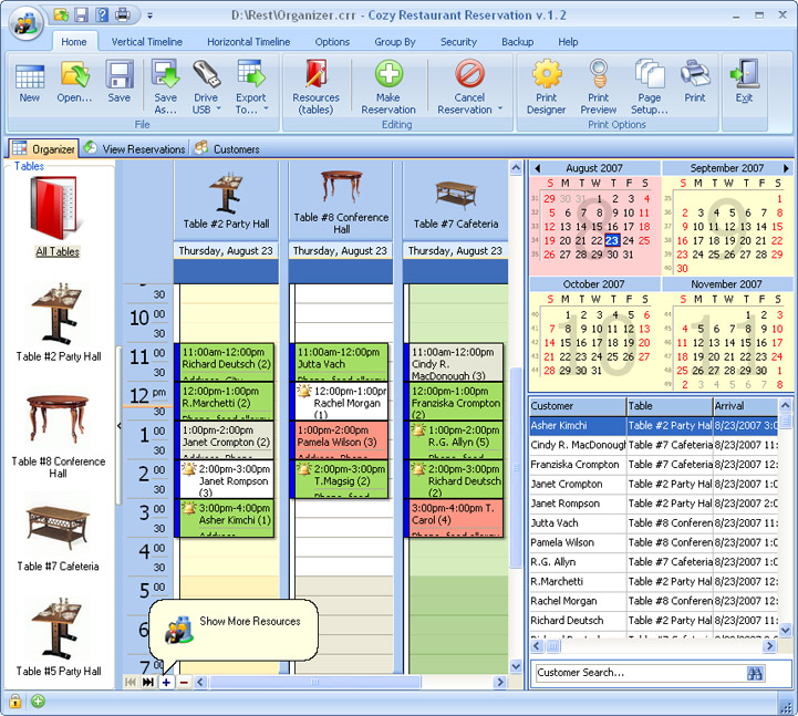 A modern and handy software for anyone operating in the restaurant business.