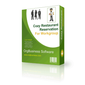 Cozy Restaurant Reservation For Workgroup v.4.5