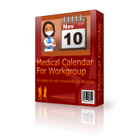 Medical Calendar For Workgroup v.5.2