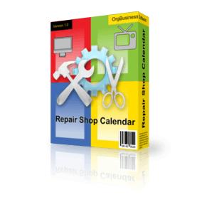 Repair Shop Calendar v.5.1