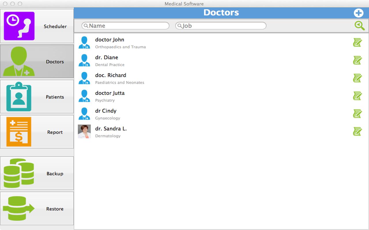 medical software for doctors